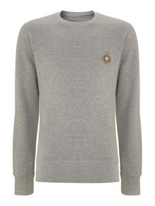 long-sleeved crew neck sweat