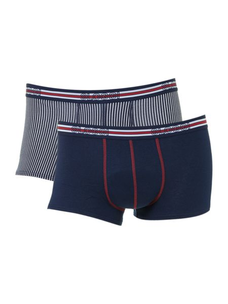 Sloggi 2 pack match hipster trunk