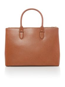 Lauren Ralph Lauren Newbury brown large tote bag