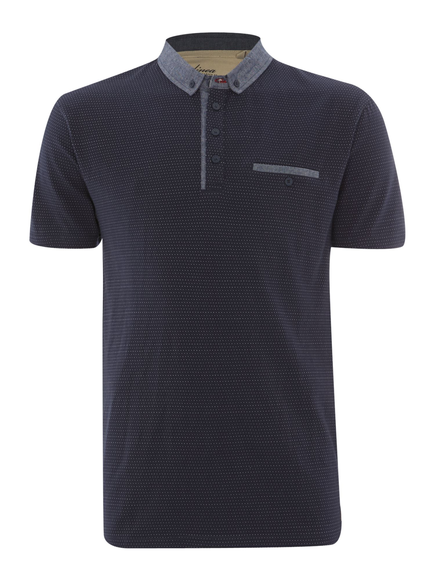 verrier polka dot polo