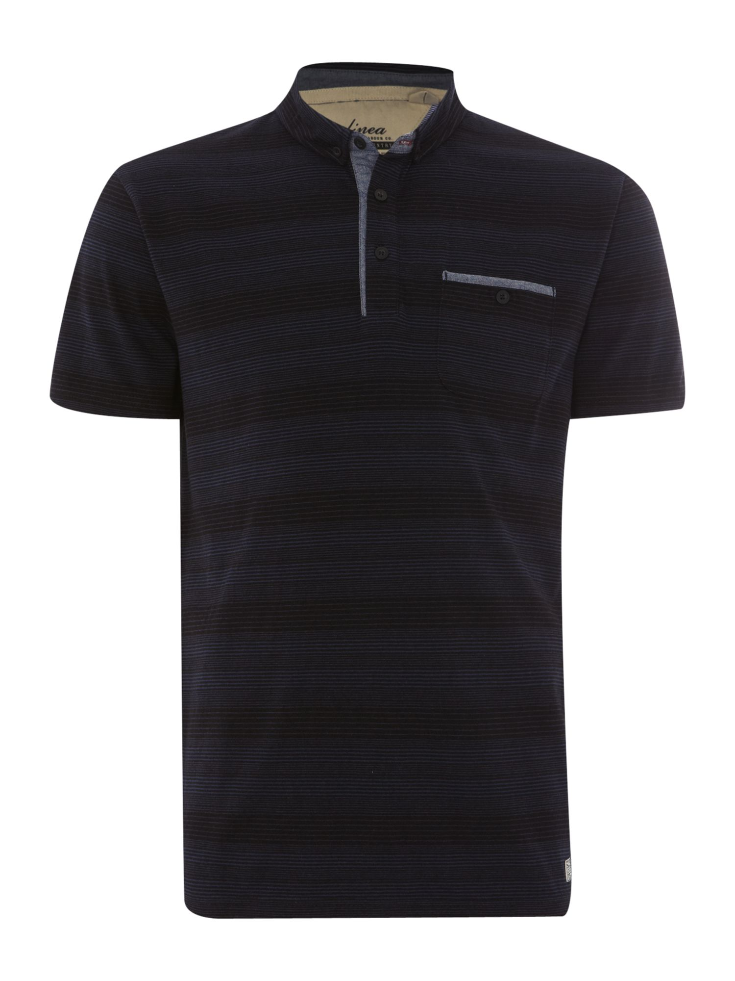 papin fine stripe polo