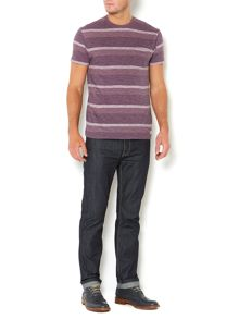 henri tonal block stripe t shirt