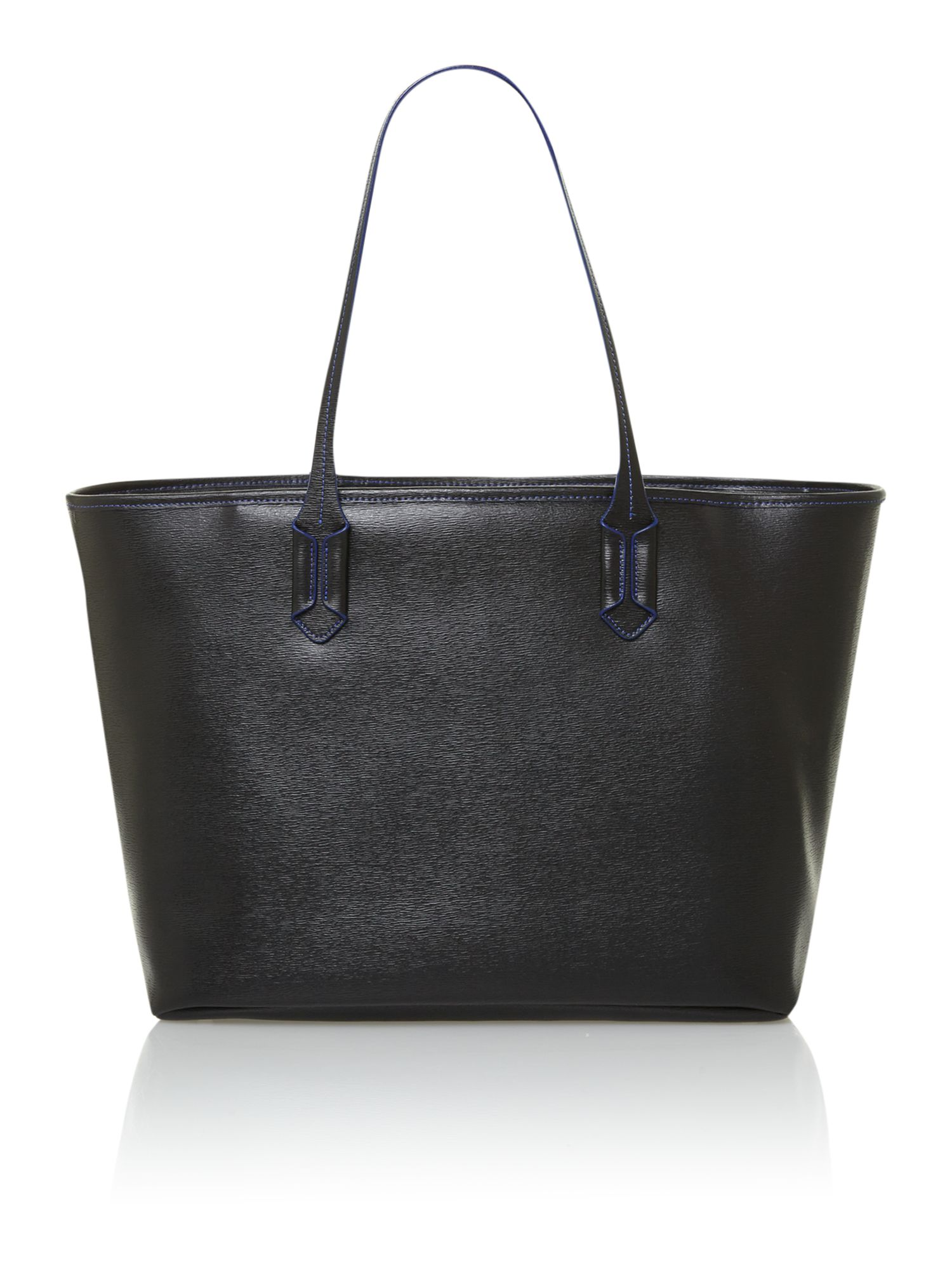 Tate black tote bag