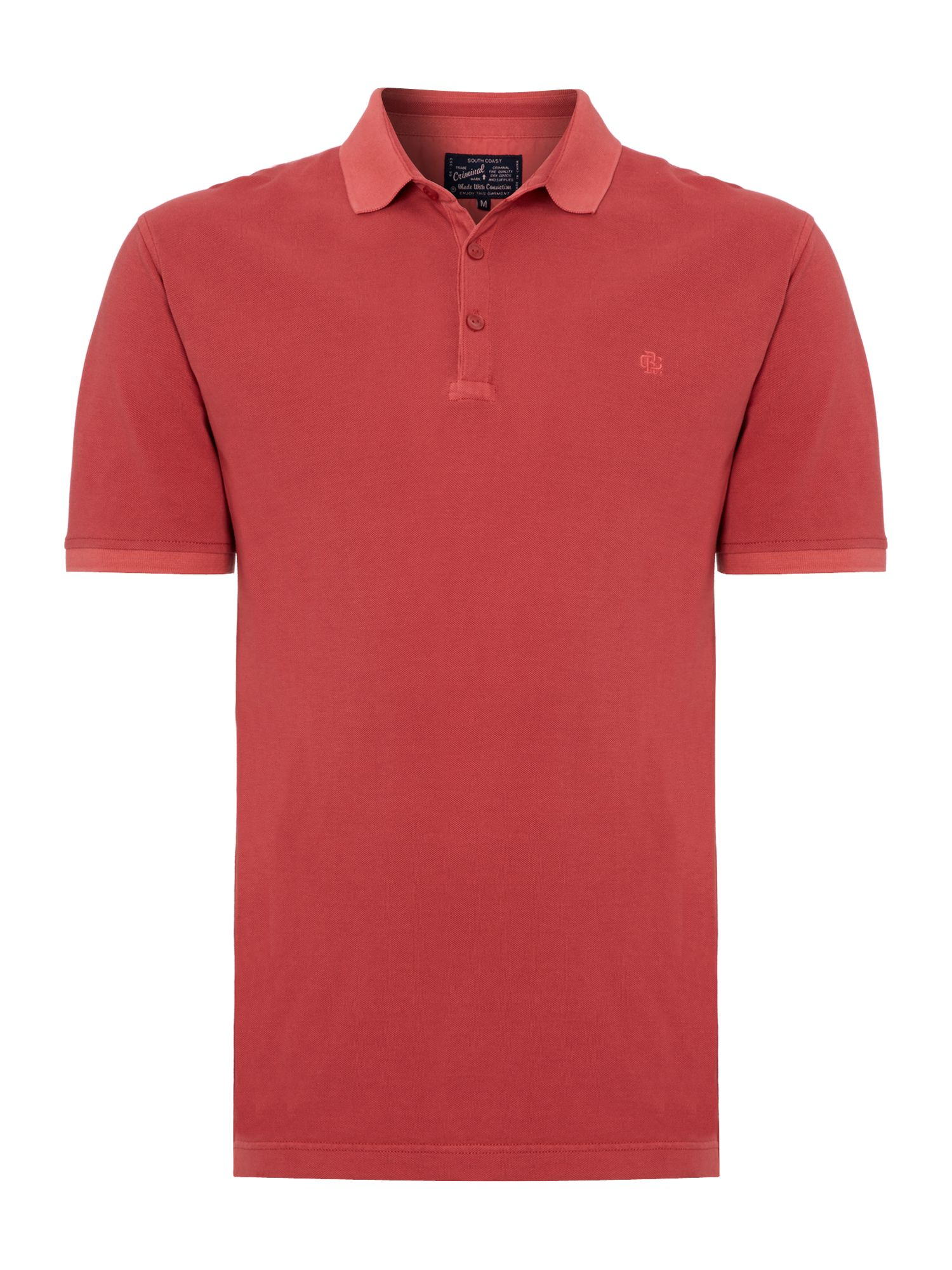 Williamsburg plain pique polo