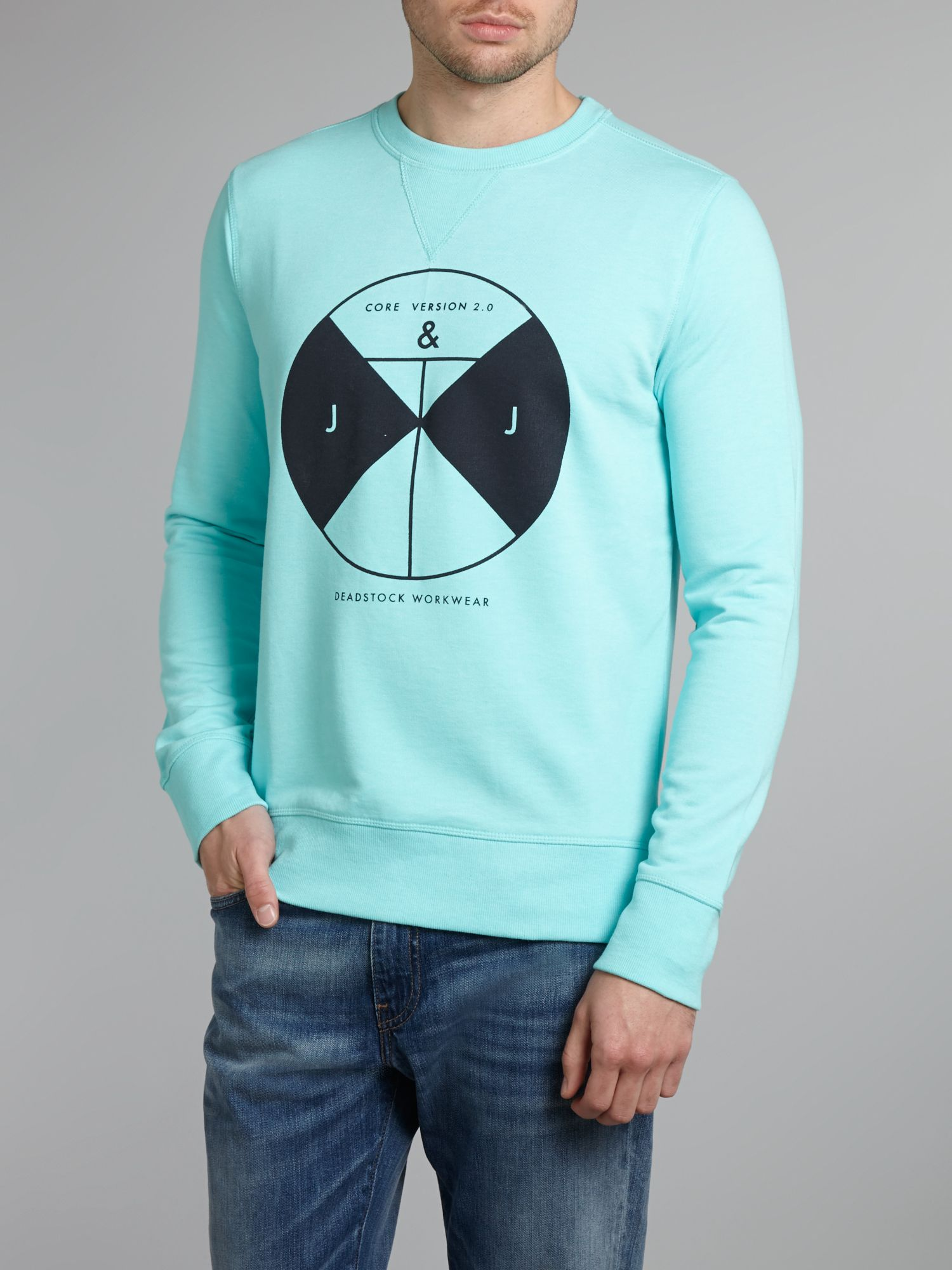 Core graphic sweater