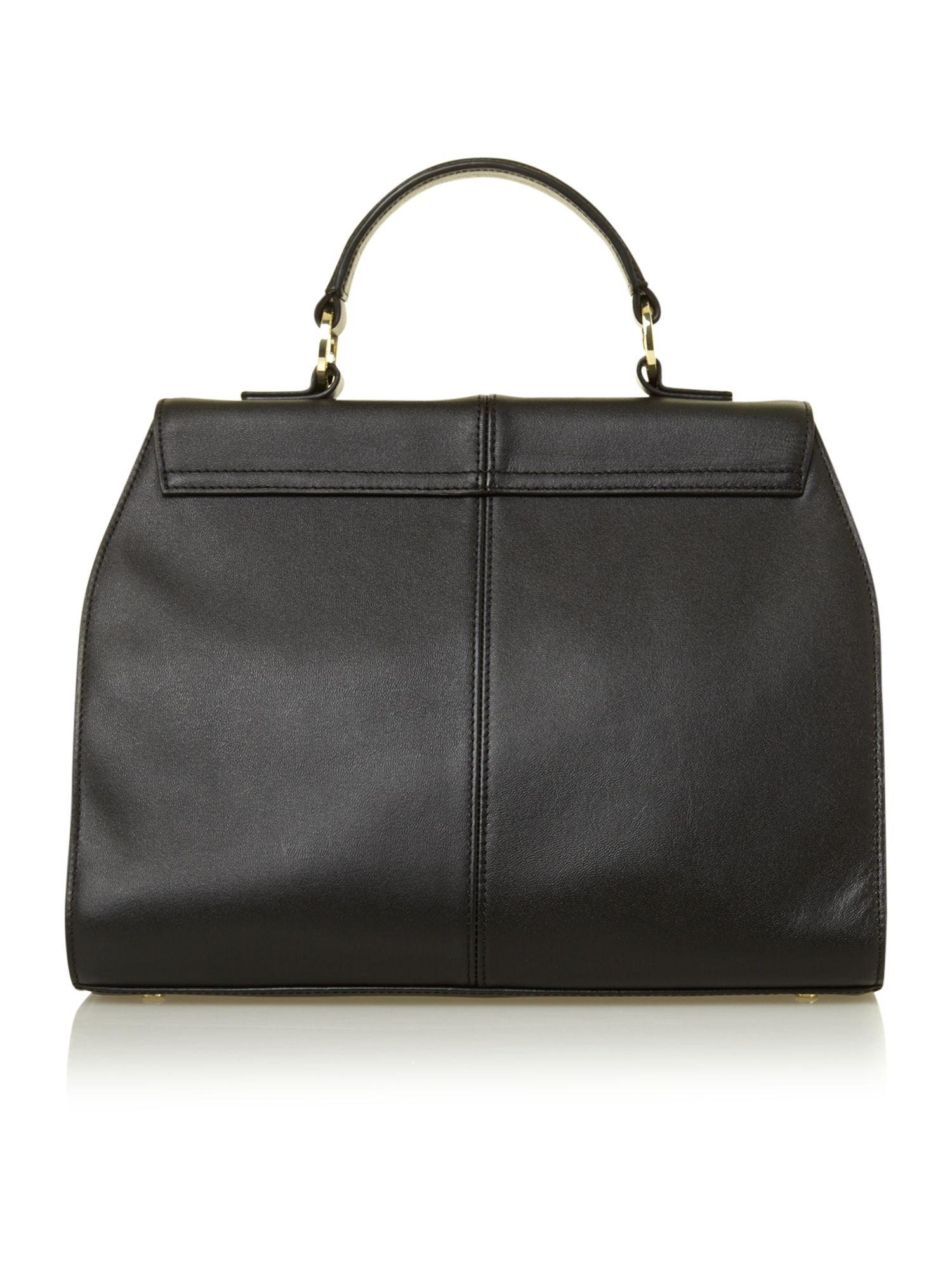 Tara top handle satchel bag