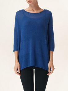 Macy mix stitch knit jumper