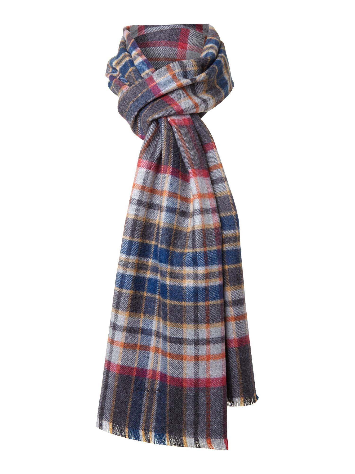 Campus plaid scarf