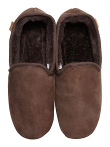 Just Sheepskin Closed back classic garrick slipper
