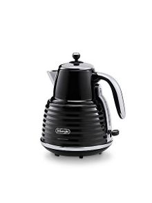 Delonghi Scultura Kettle Black