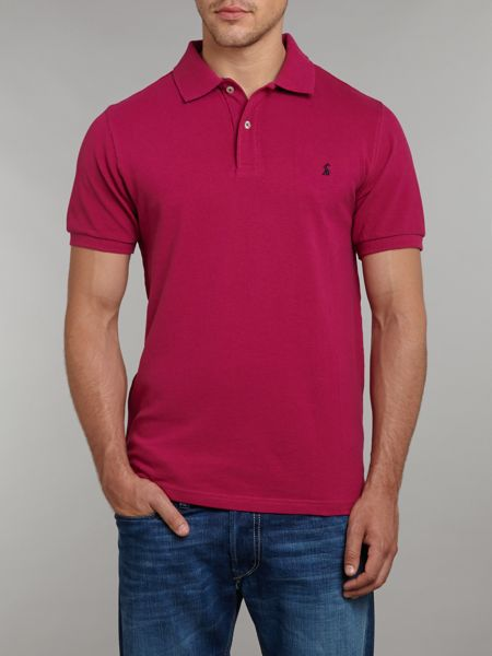 Joules Contrast collar polo shirt