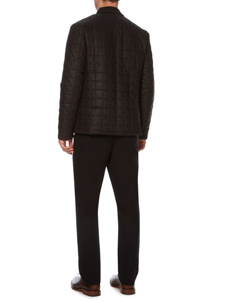 Linea Cassini wax square quilted jacket