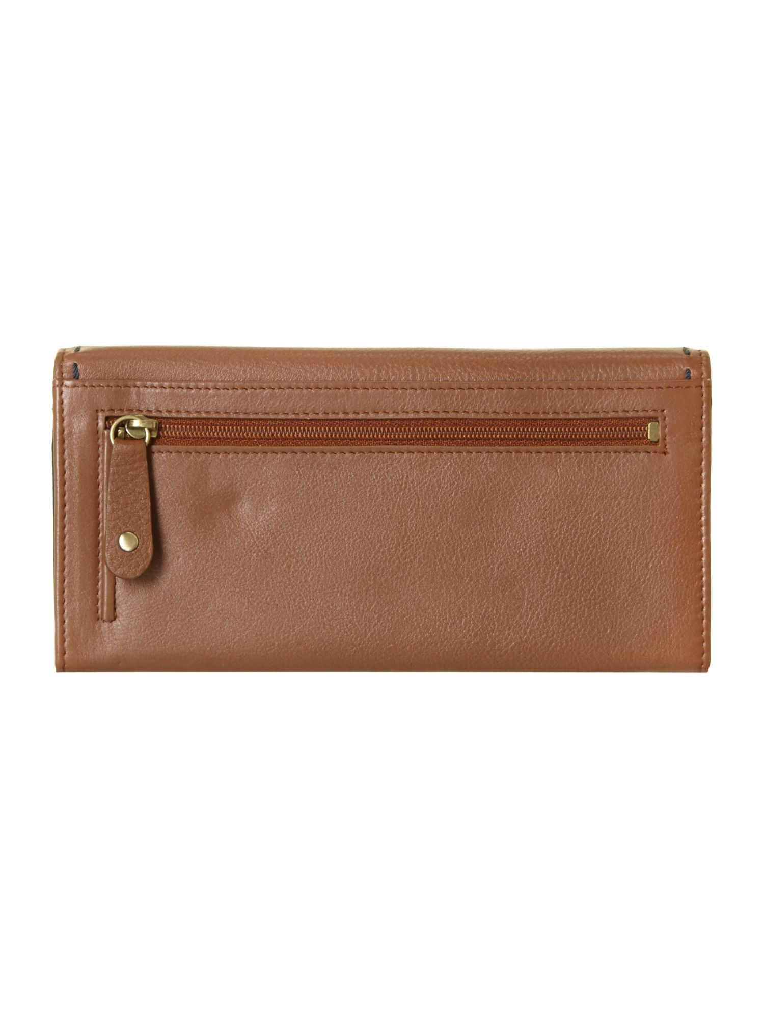 Poppy large flapover purse