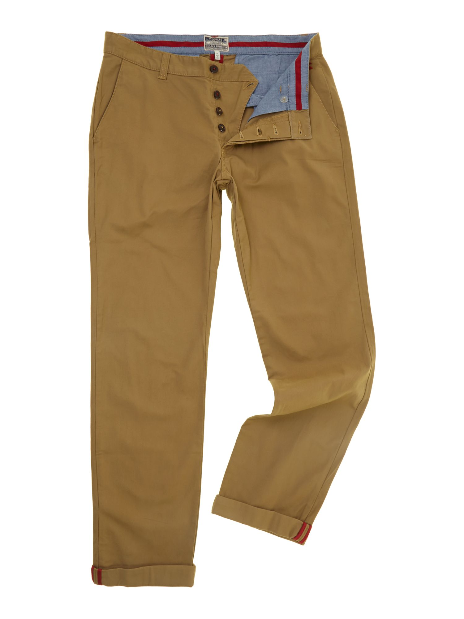 Stretton straight fitted chino`s