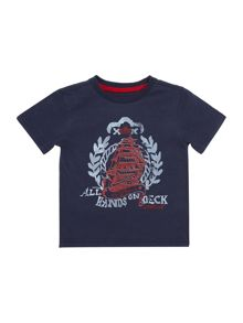 Boys Boat T-shirt