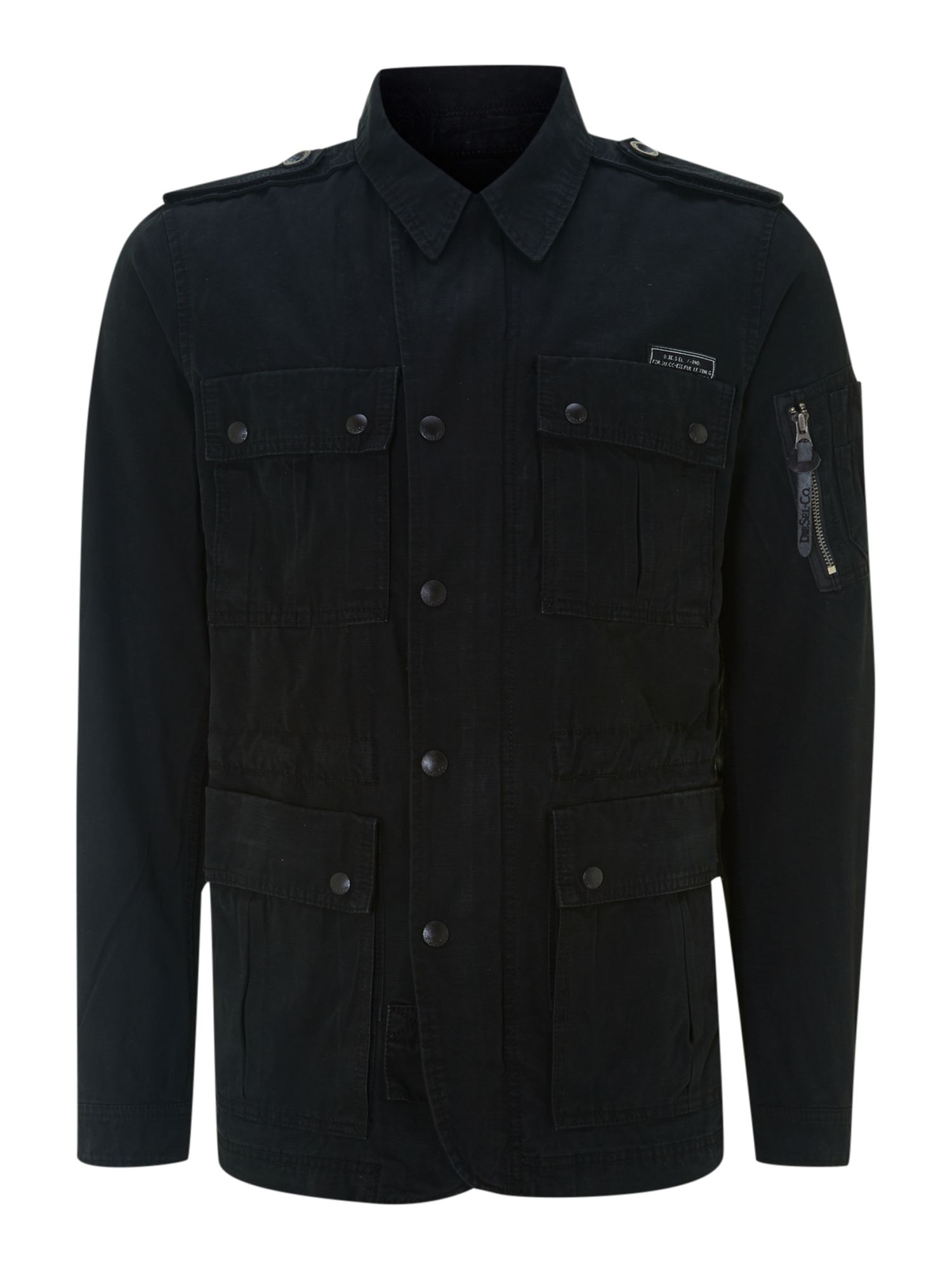 Black 4 pocket jacket