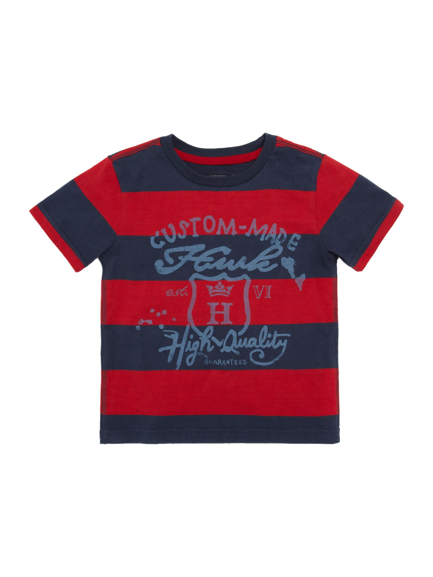 Boys graphic stripe T-shirt