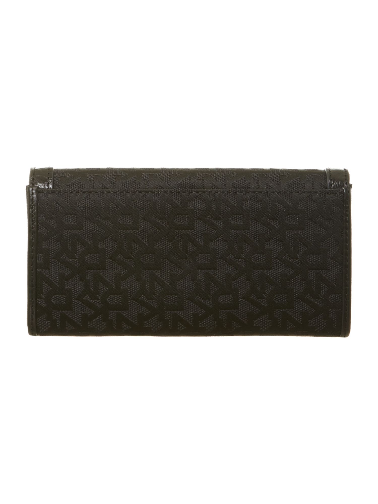 Large flapover purse