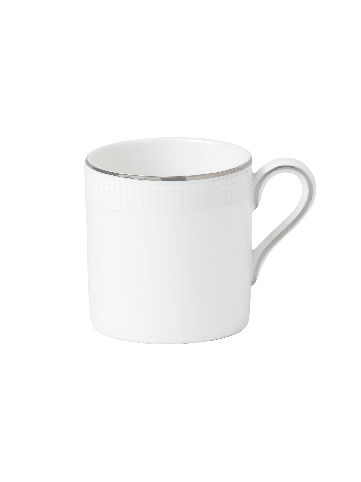 Vera Wang blanc sur blanc bond coffee cup