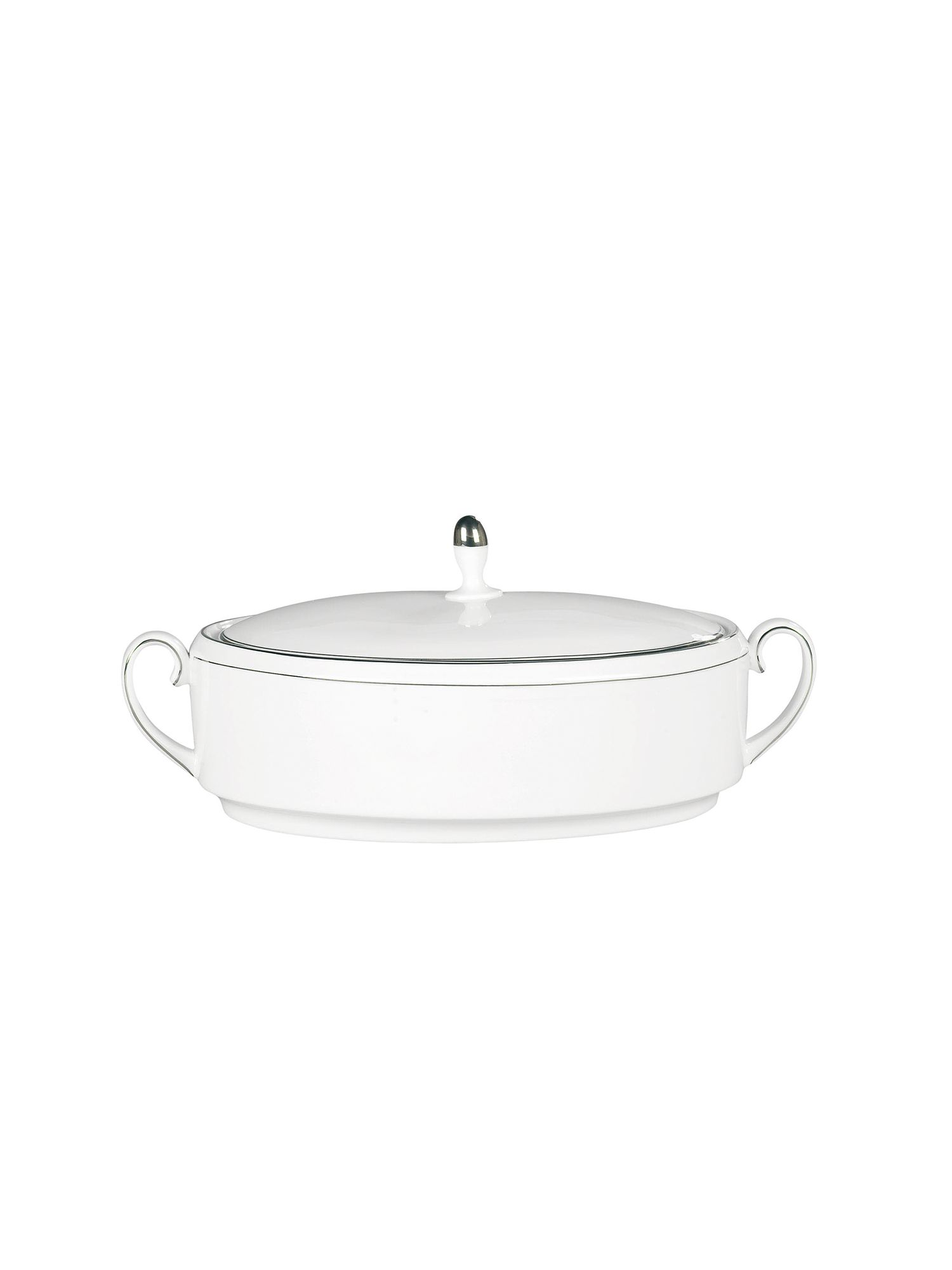 Vera Wang blanc sur blanc vegetable dish