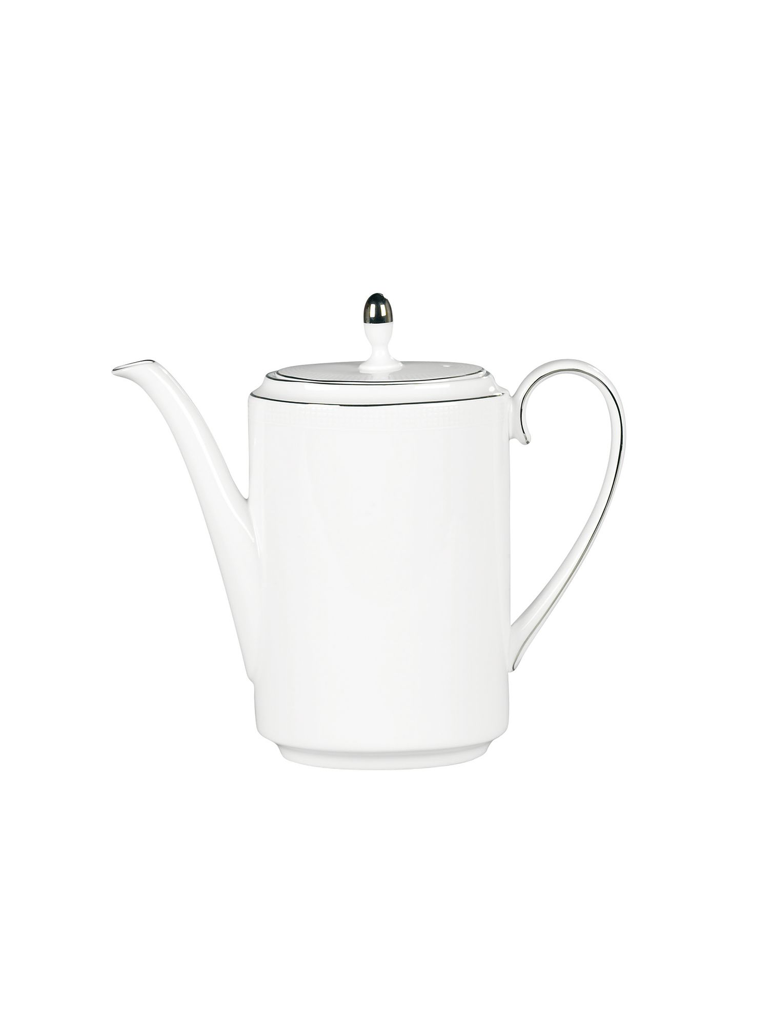 Vera Wang blanc sur blanc coffee pot
