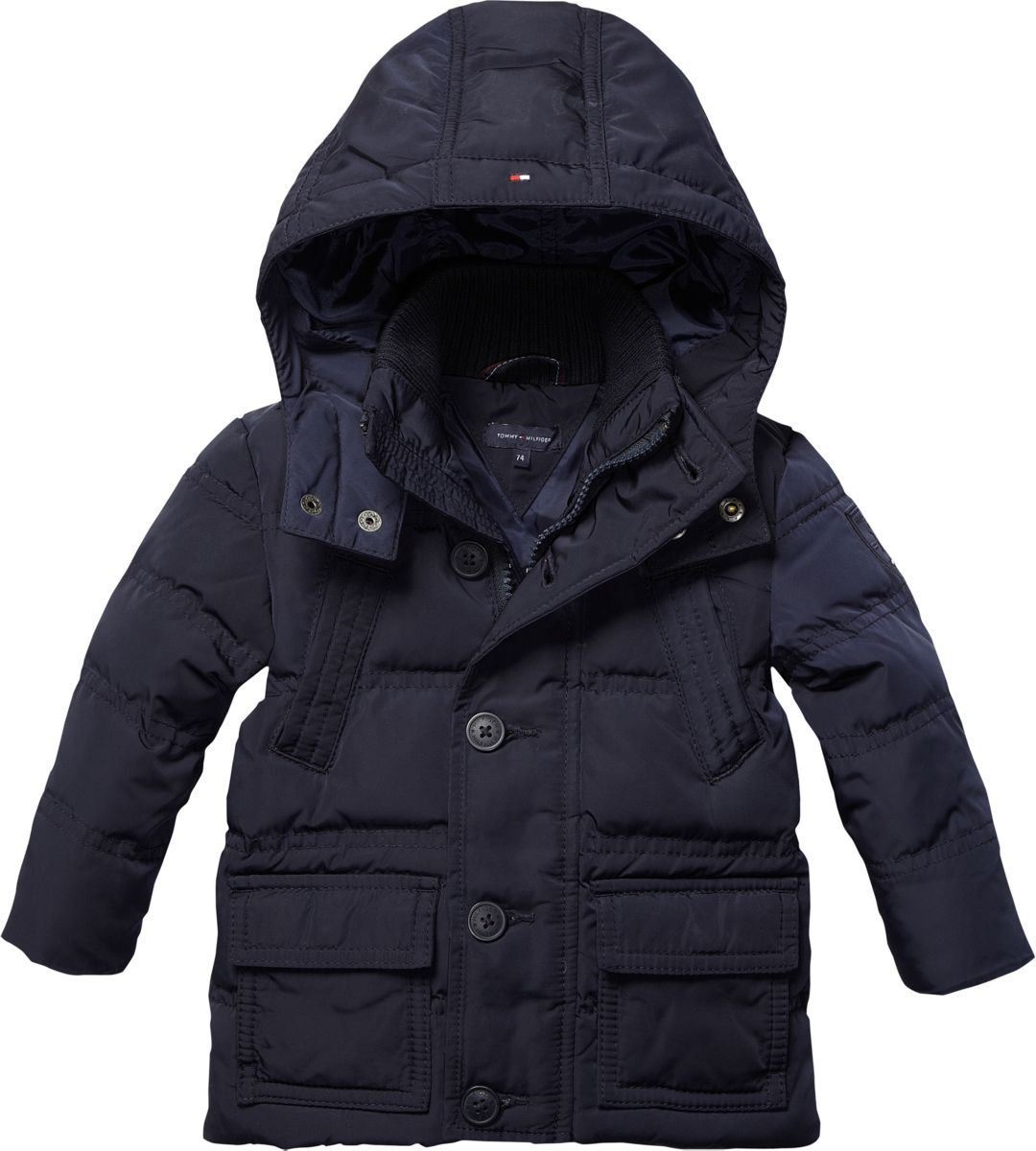 Toddler boy`s back to school mini jacket