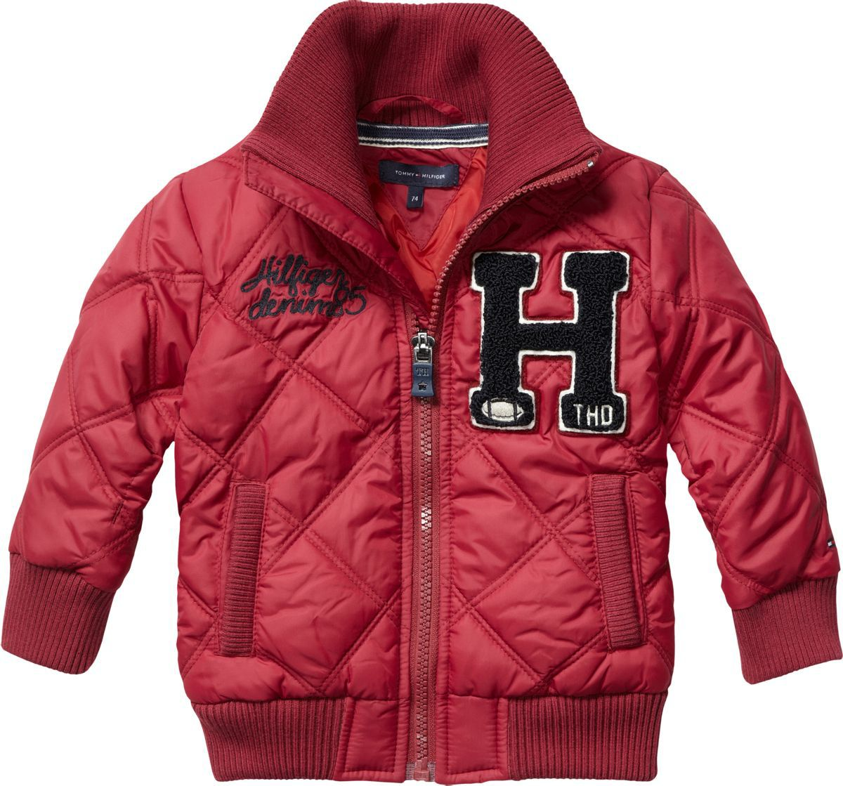 Boy`s quilted mini jacket