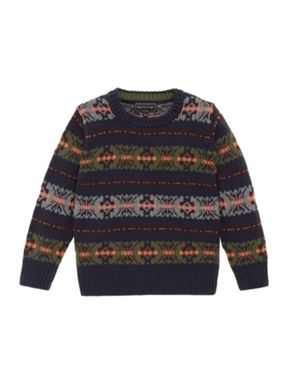 Howick Junior Boy's Fairisle Jumper