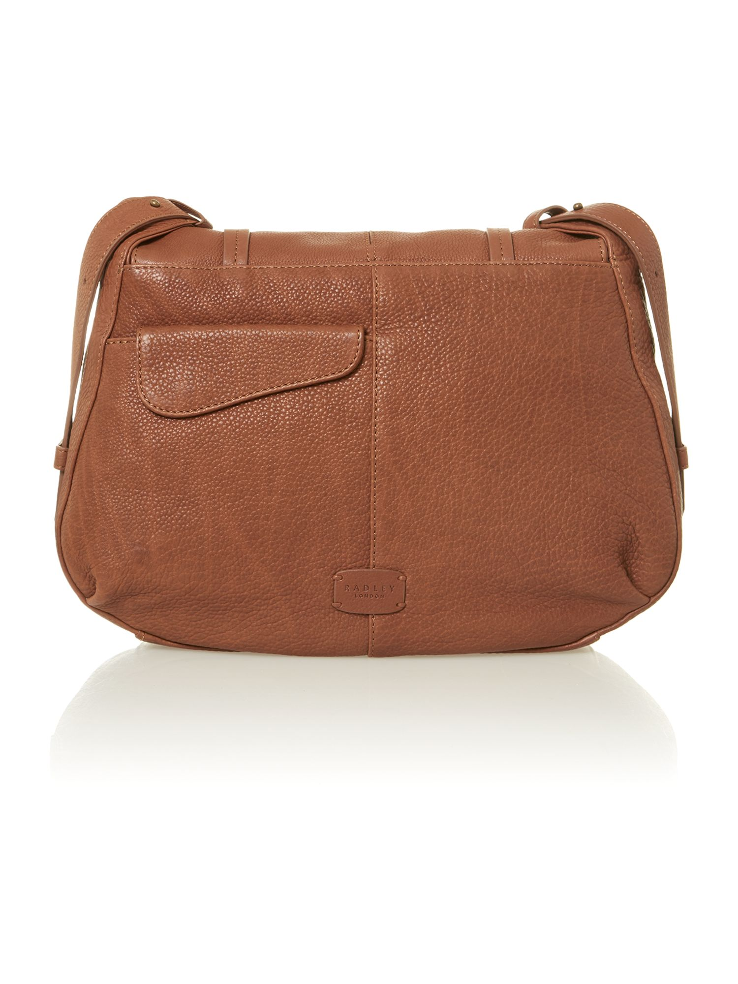 Grosvenor tan shoulder bag