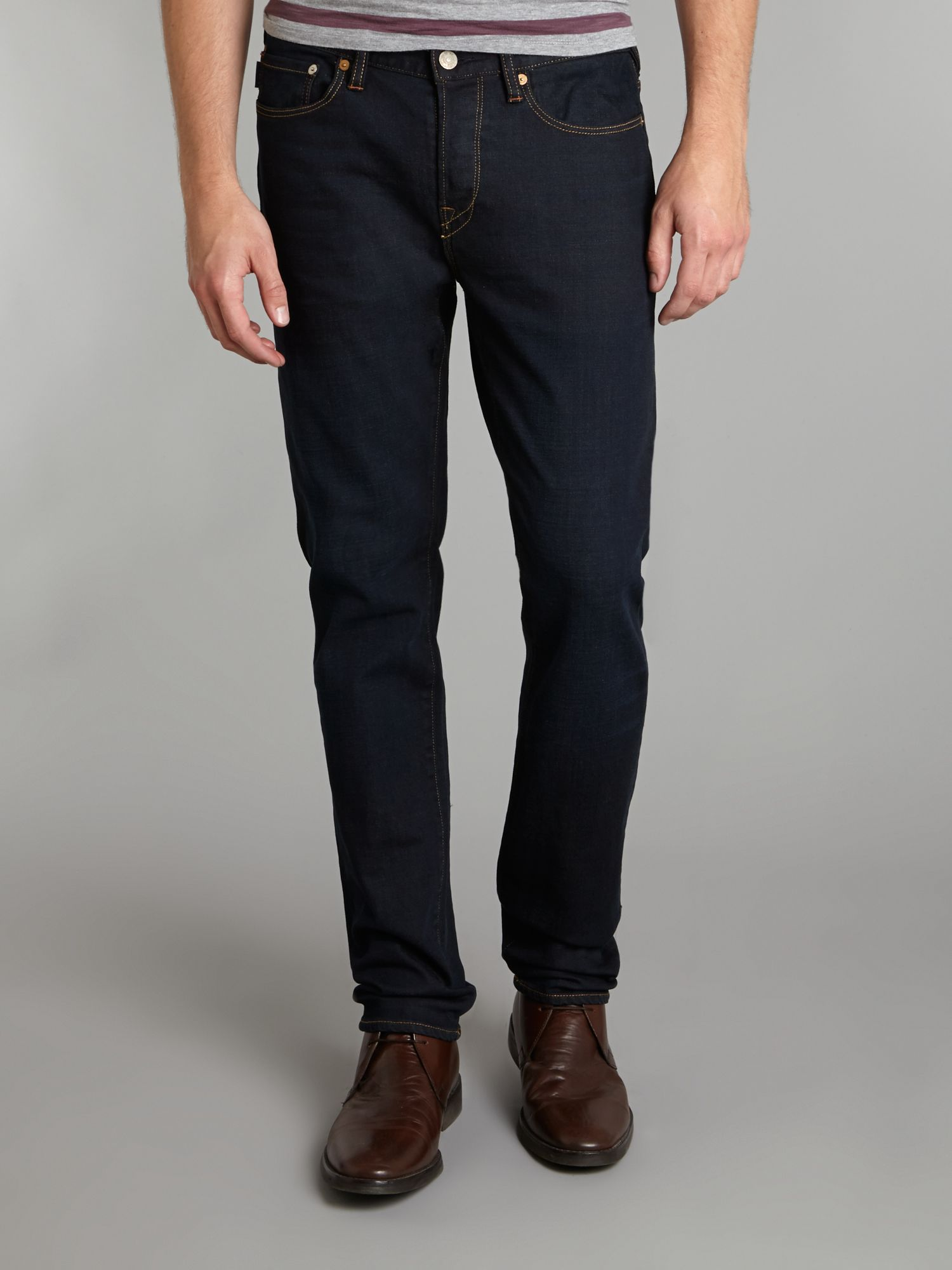 Dark blue slim jean