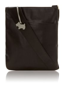 Black medium pocket bag