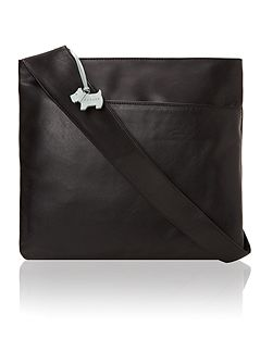 Black large pocket bag