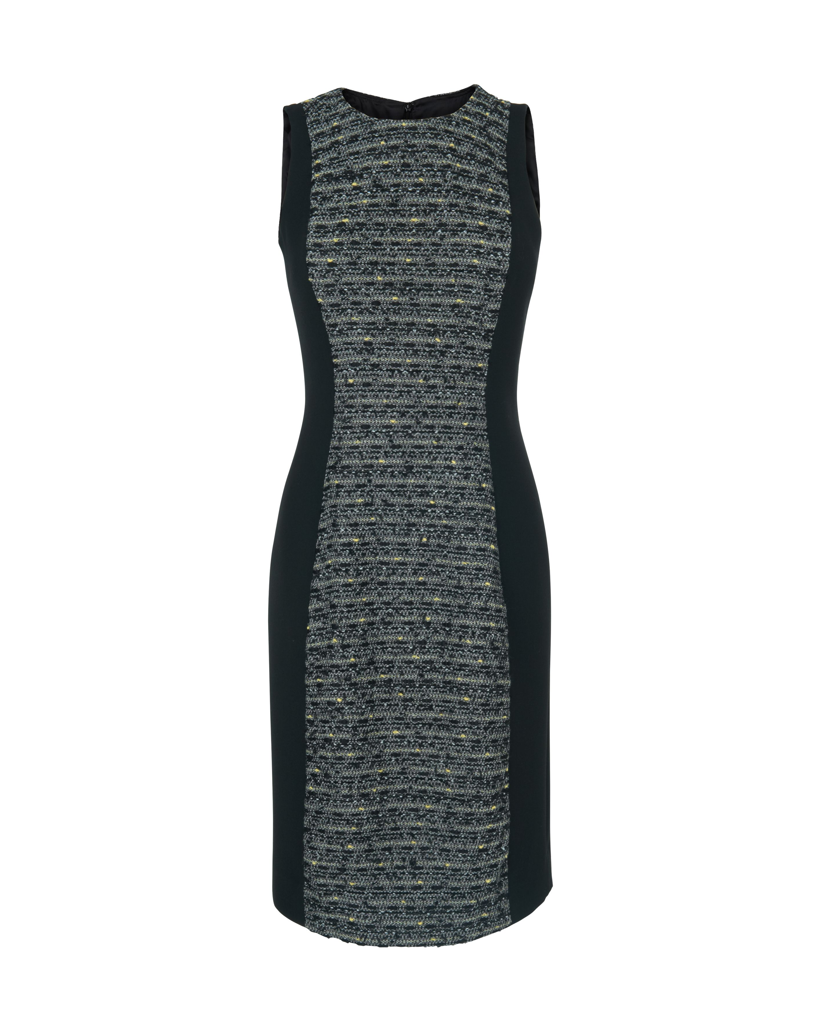Linton tweed sleeveless dress