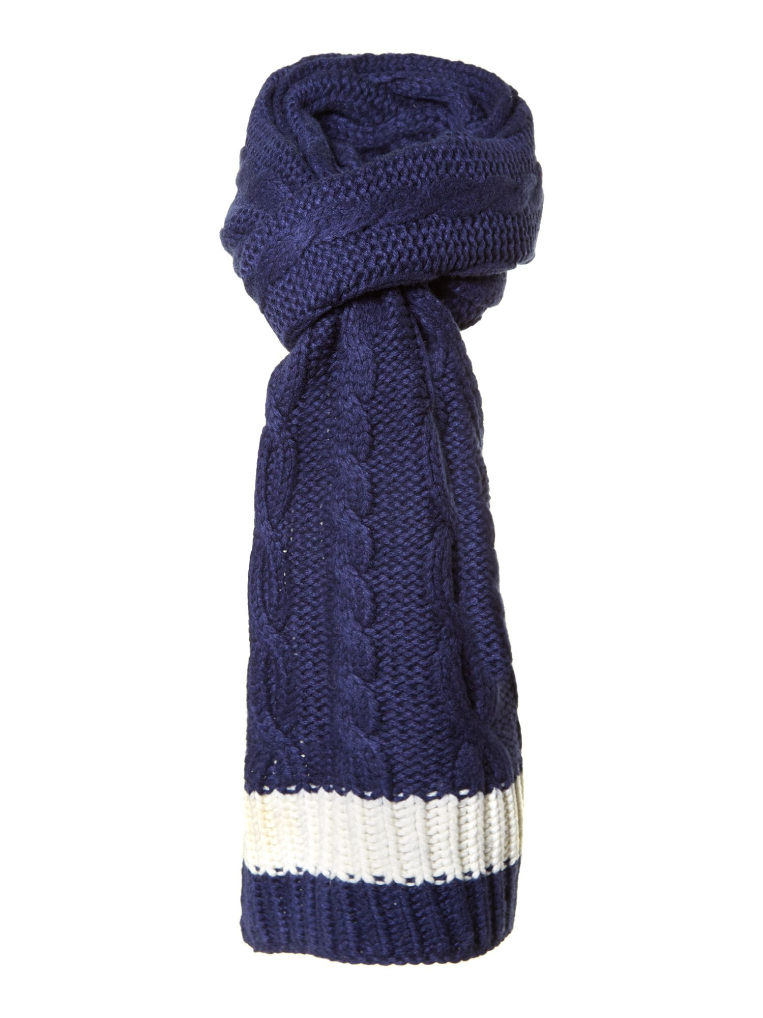 Westby cable knit scarf