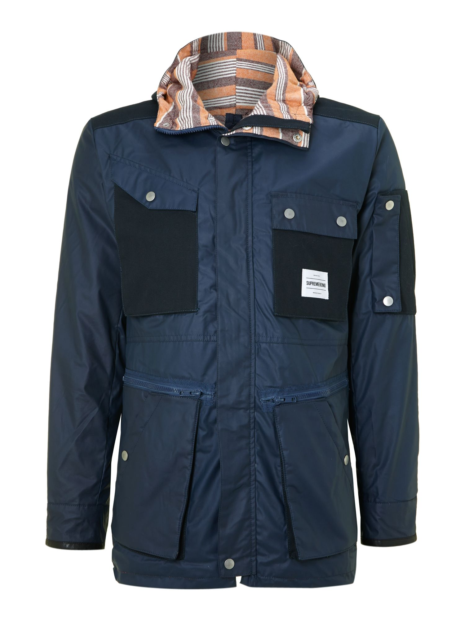 Portage pocketed coat