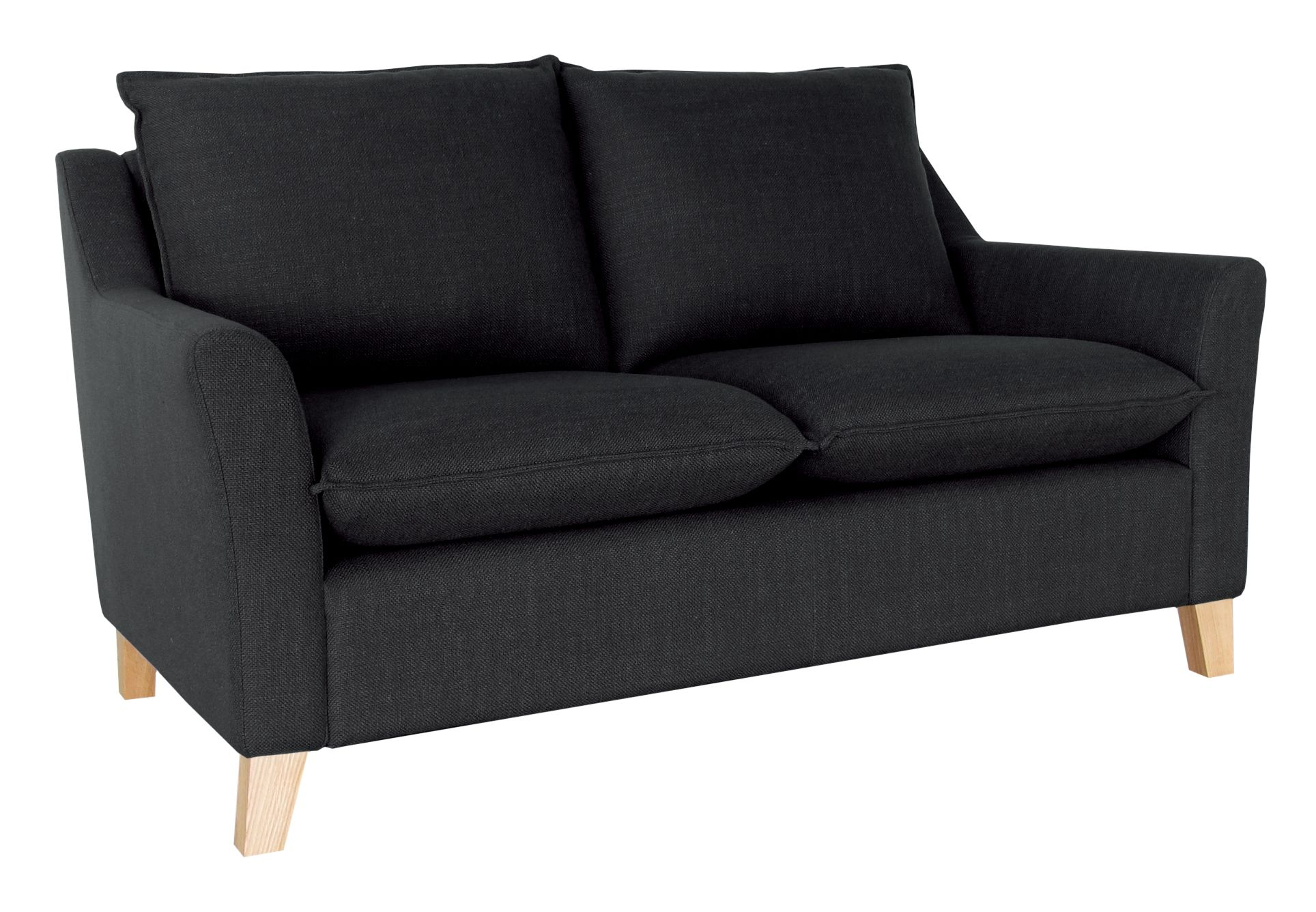 Capri small charcoal sofa