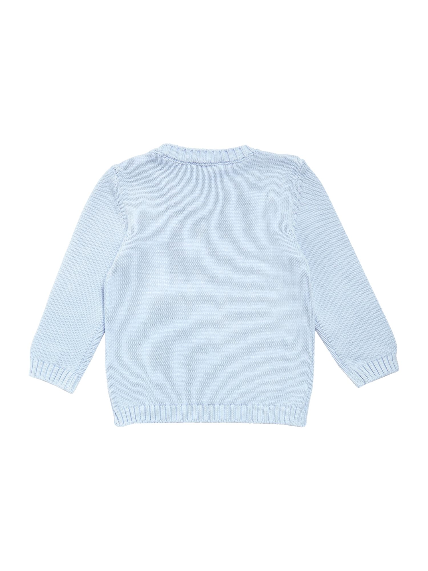 Boy`s logo knitted top