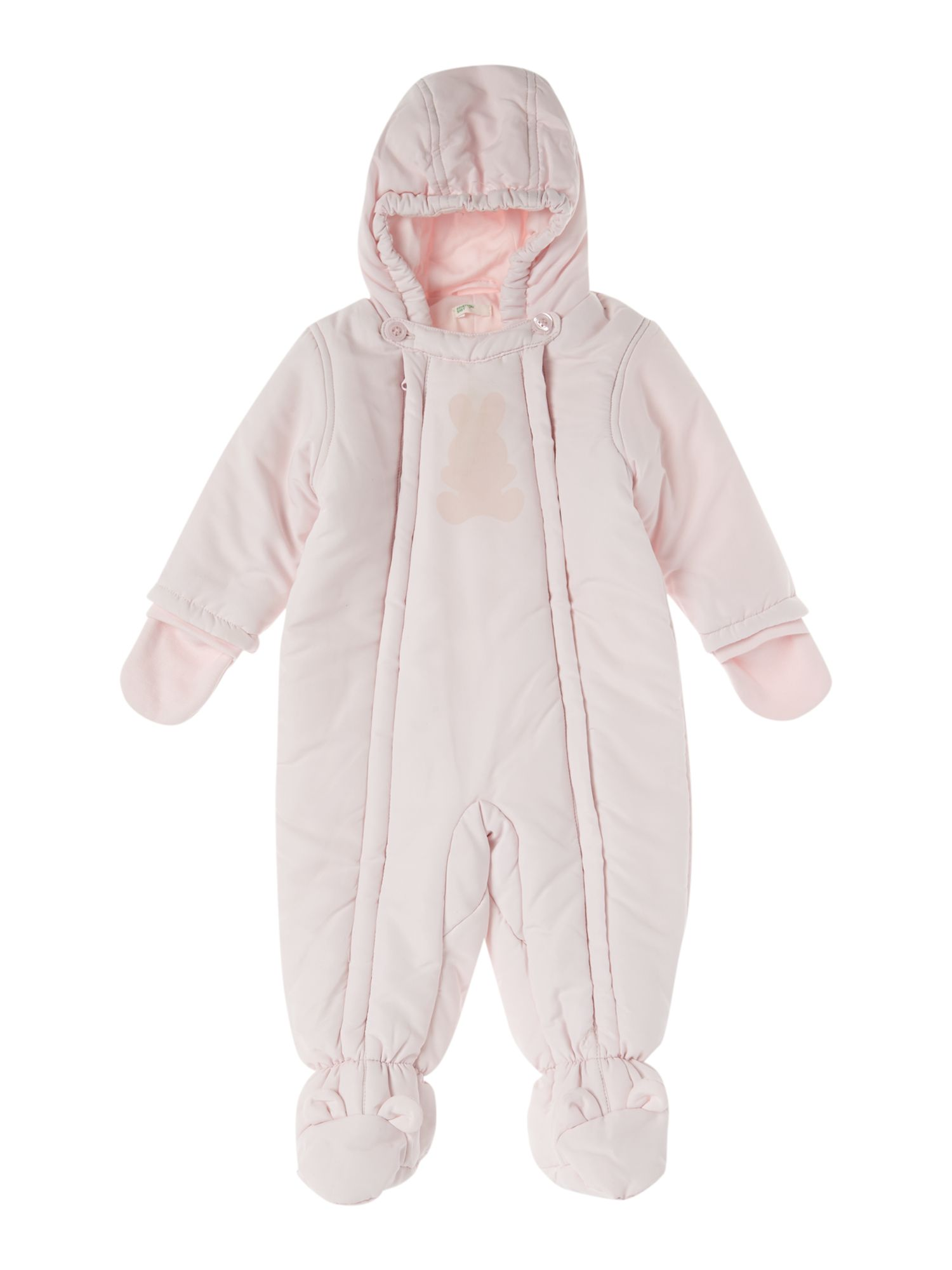 Girl`s snowsuit