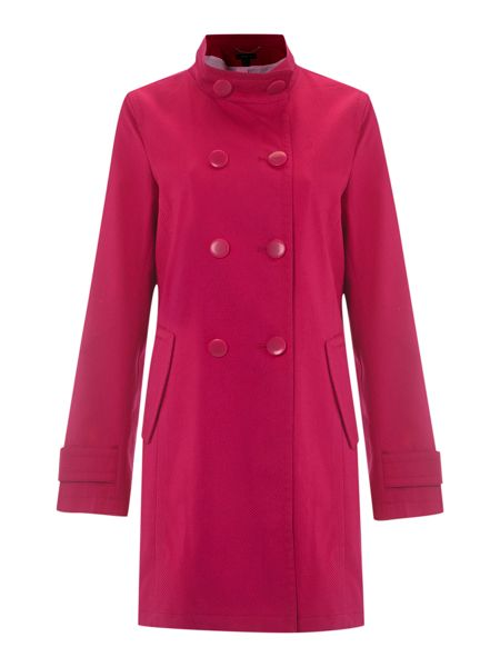 Lands' End Double-breasted pique coat