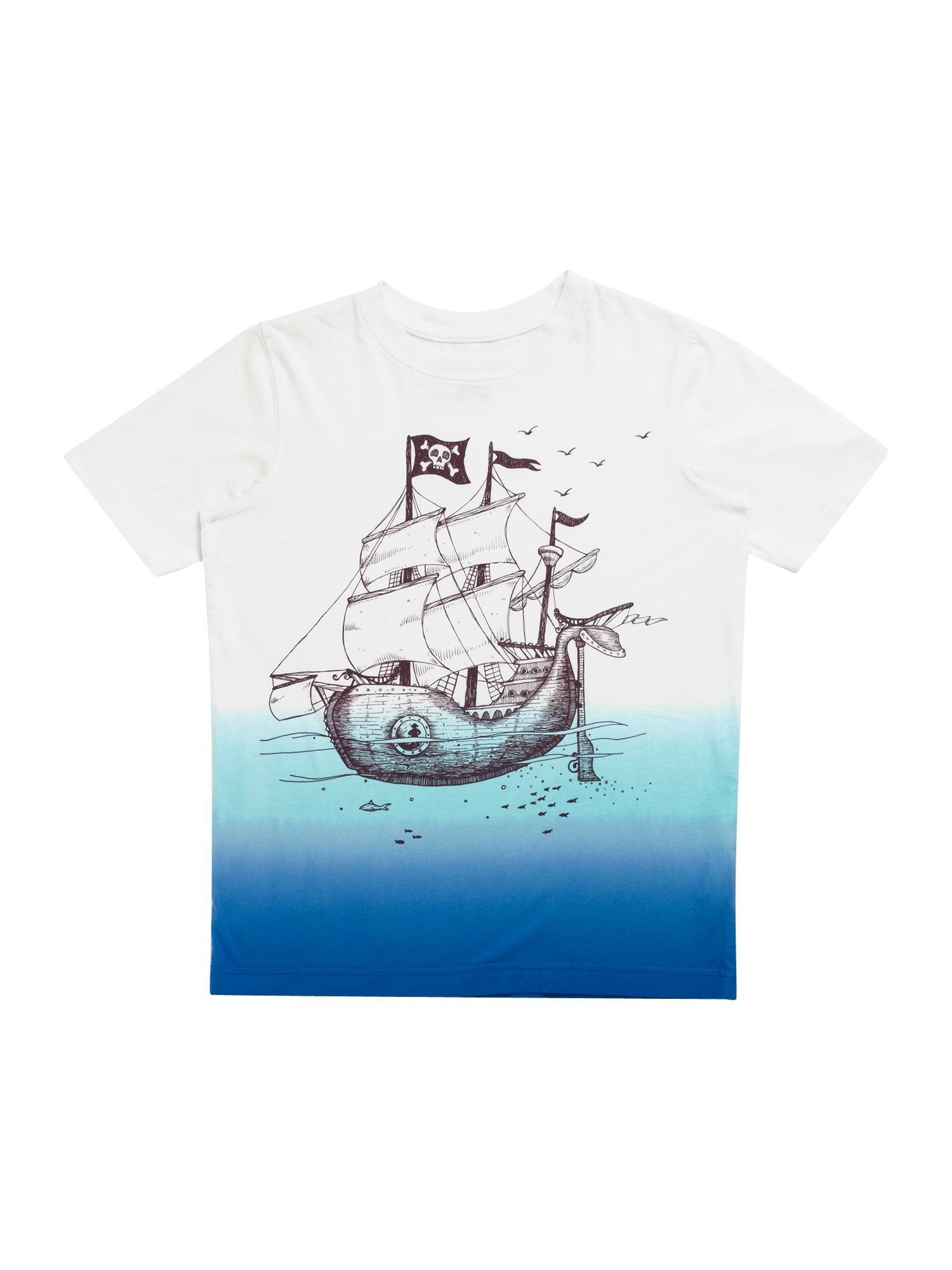 Boy`s skull island graphic t-shirt
