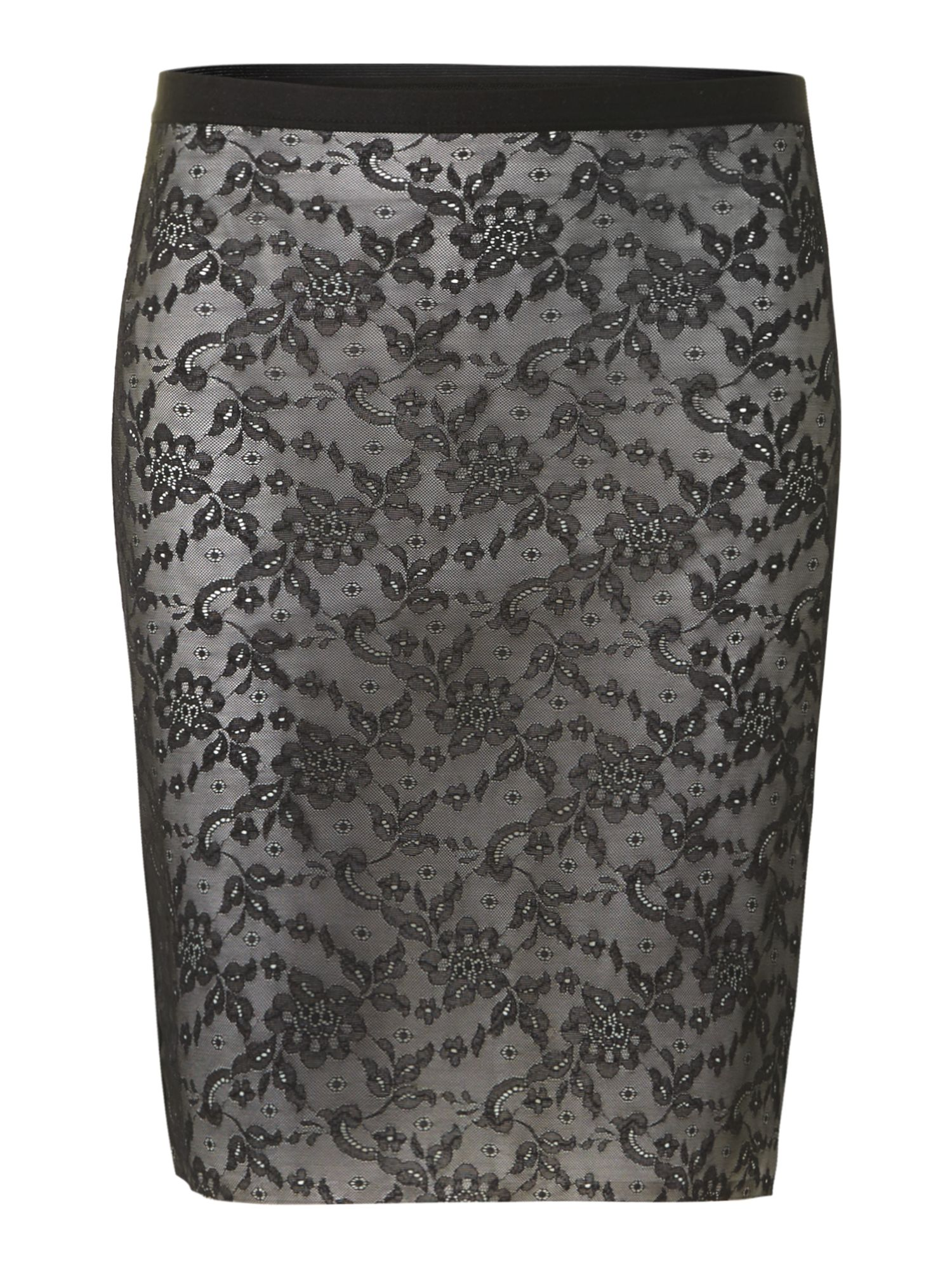 Light sensation lace shapewear skirt