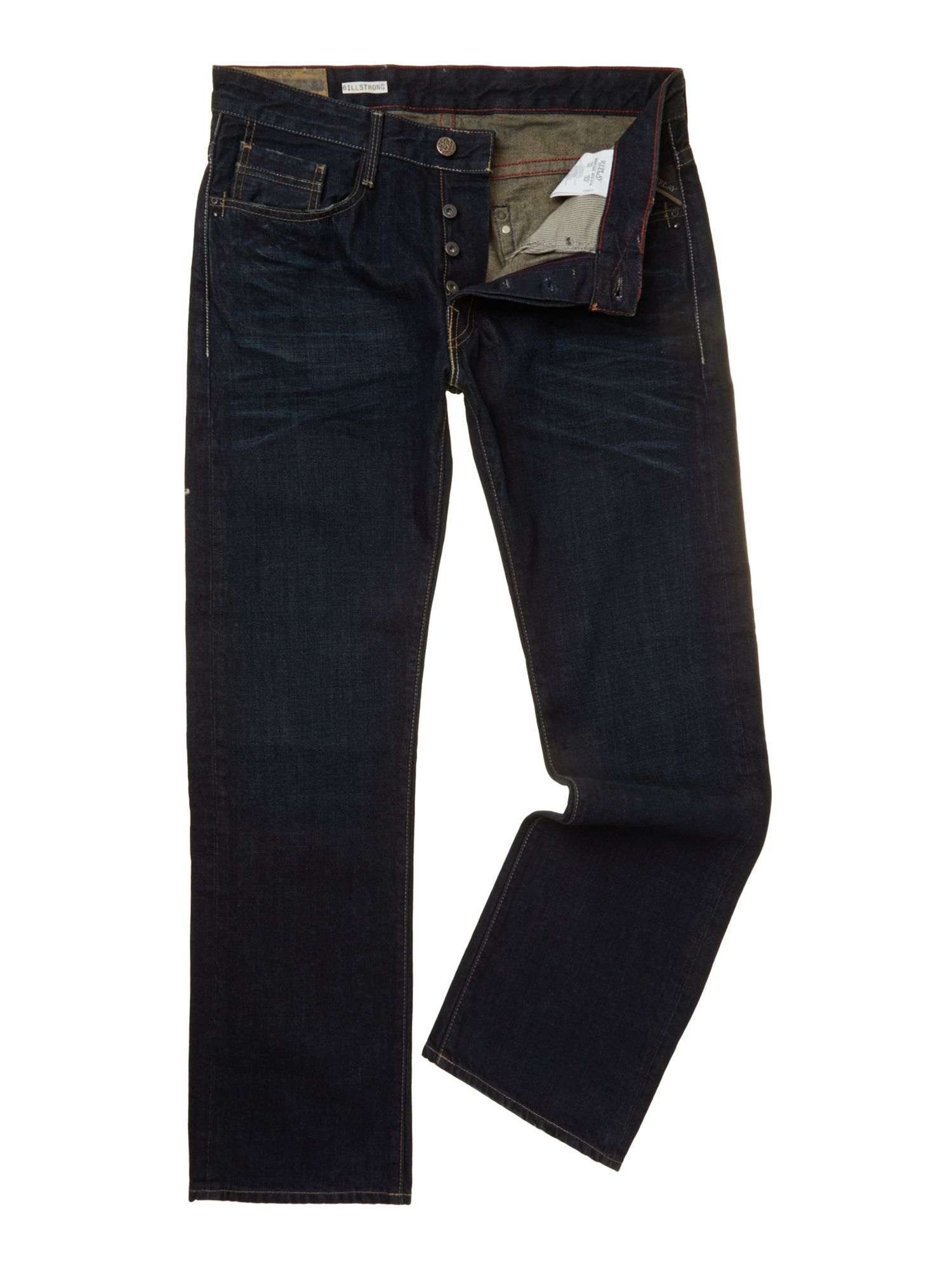 Billstrong classic fit denim jeans