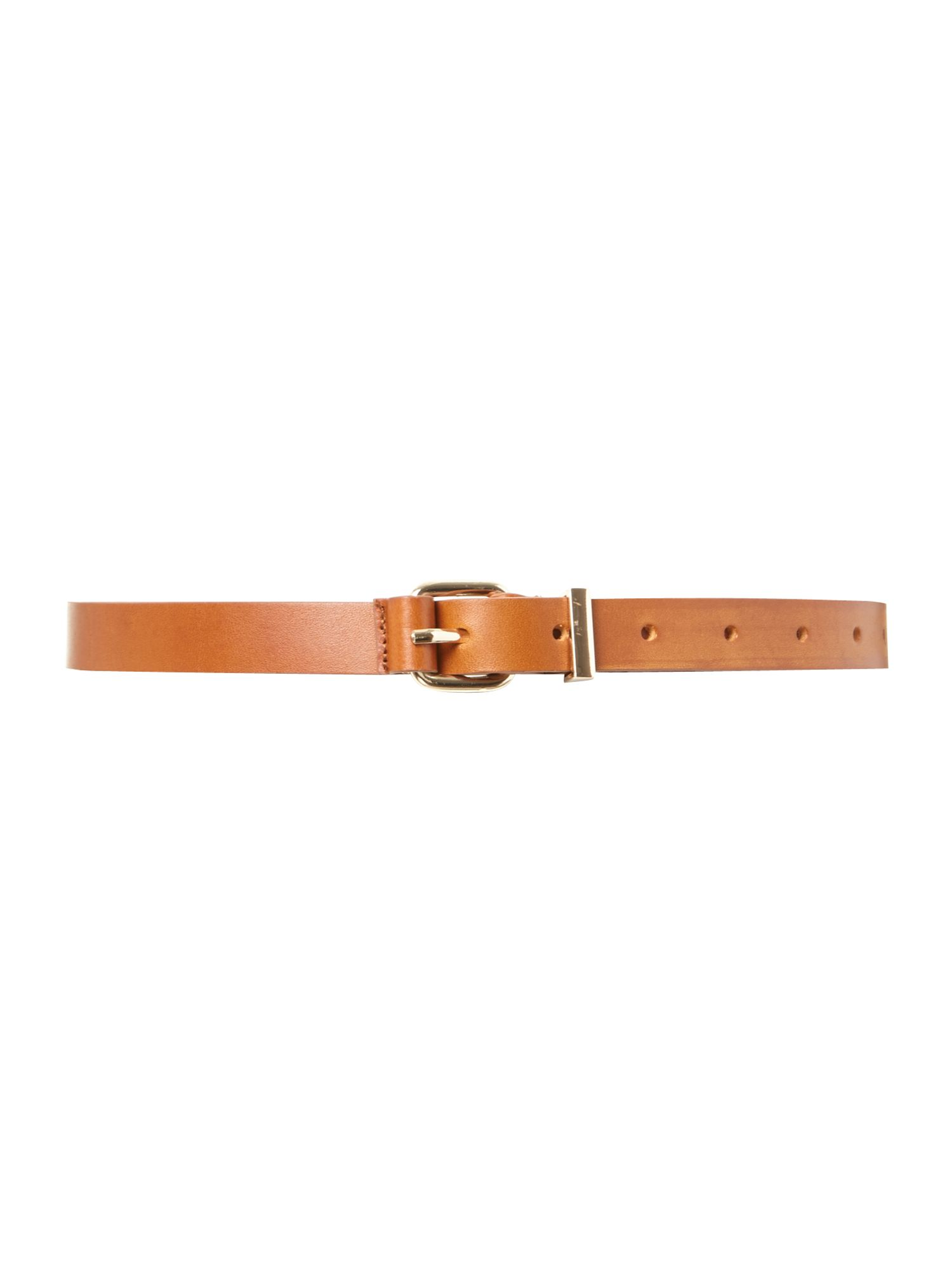 Metal keeper belt