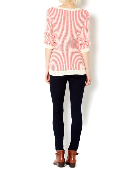 Therapy Chunky plaited textured jumper