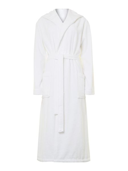 Luxury Hotel Collection Bathrobe in White (M/L)