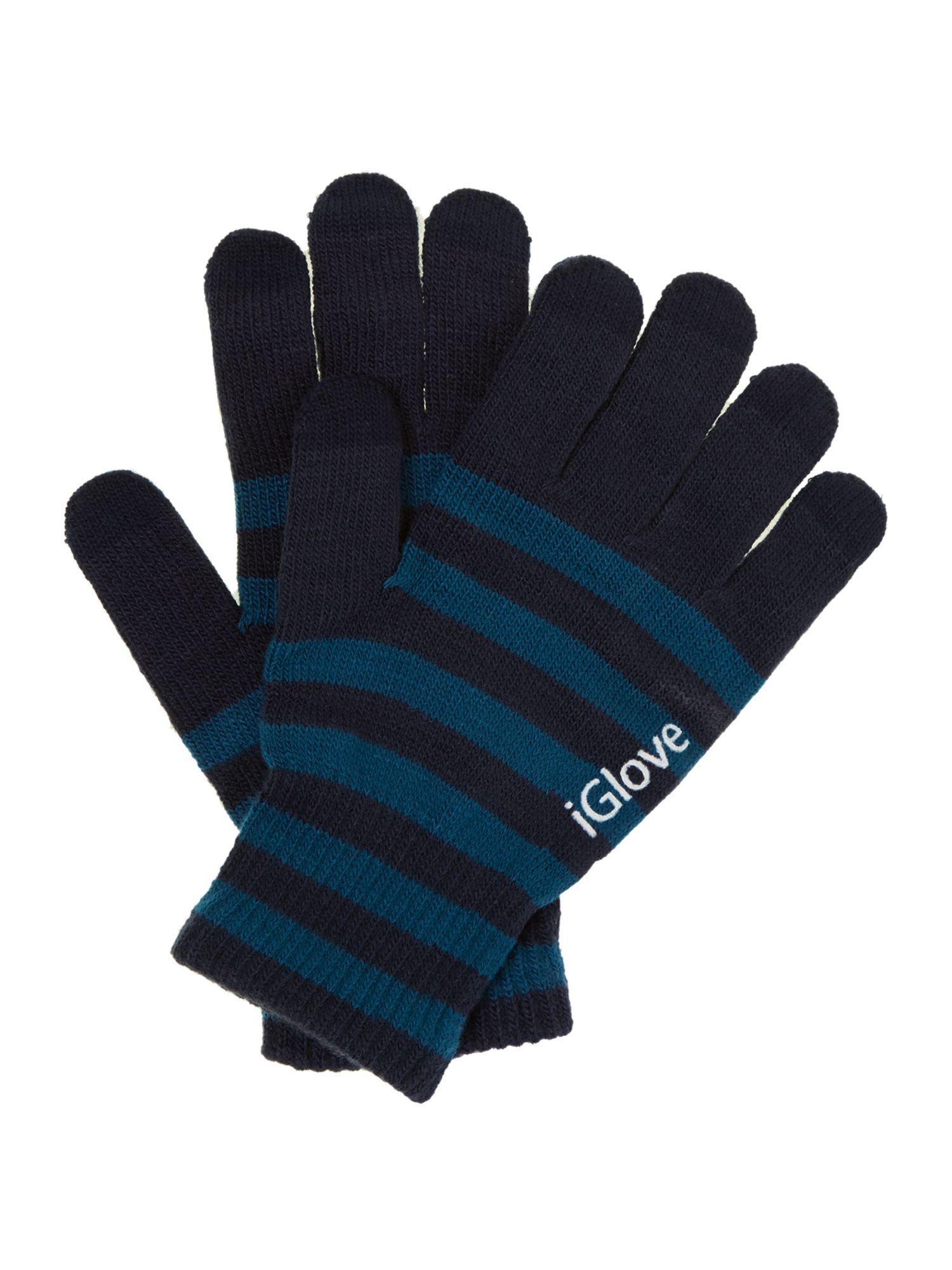 Stripe five finger touch screen glove