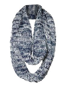 Chunky open knit snood