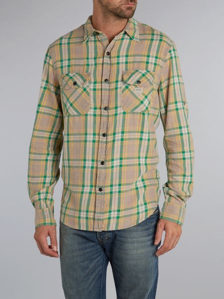 Denim and Supply Ralph Lauren Ward large check shirt