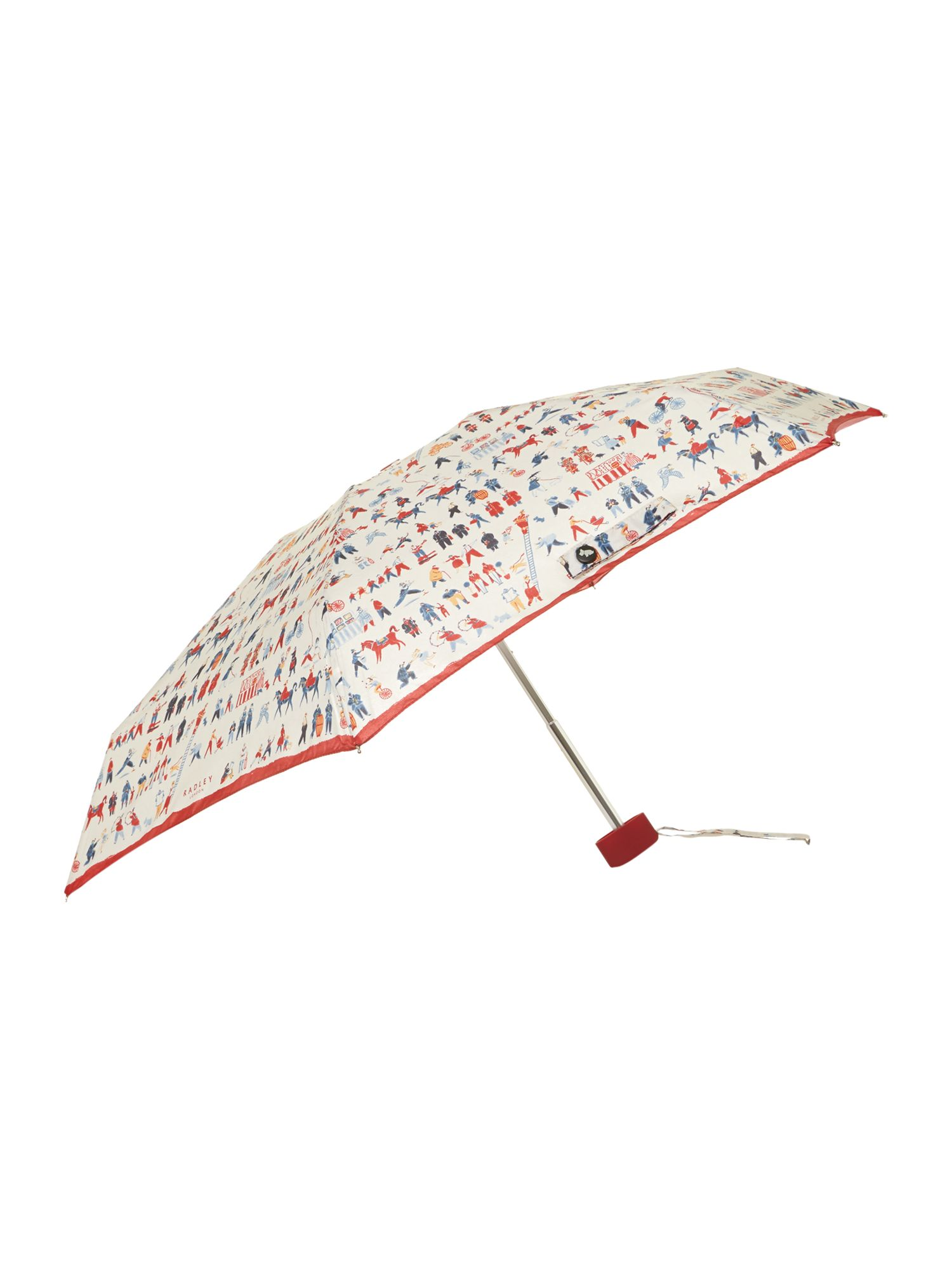 Multi coloured soldier umbrella