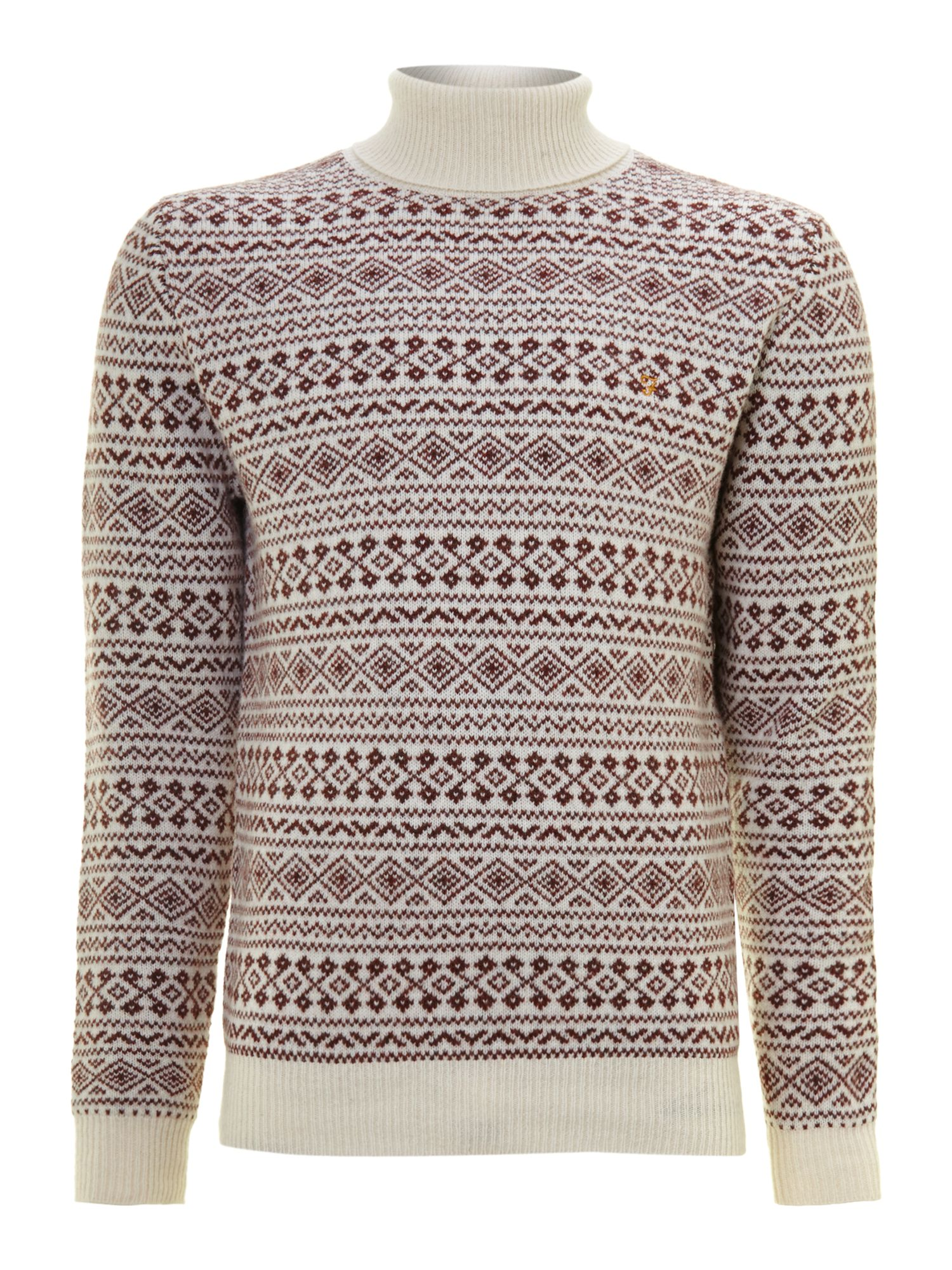 Hereford roll neck knit
